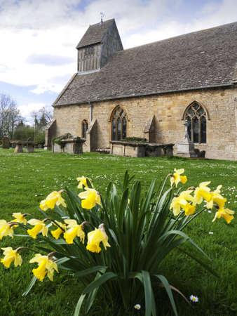 the church at long marston village warwickshire Stock Photo - 4802966