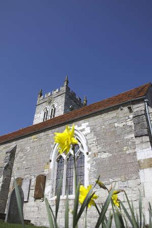 churchyard: wootten wawen church atratford-upon-avon saxon church oldest in warwickshire