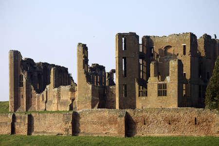 warwickshire: kenilworth castle warwickshire the midlands england uk Stock Photo