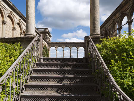 worcestershire: Witley Court Country House Worcestershire Midlands England Stock Photo