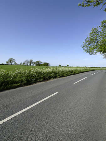 cotswold road chipping campden gloucestershire the midlands england uk europe photo
