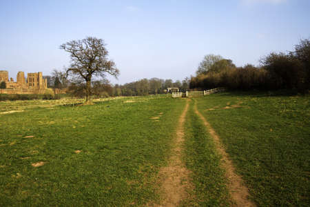 a footpath in the countryside Stock Photo - 5059004