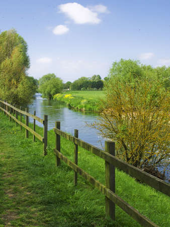 gb: the river avon bidford on avon warwickshire the midlands england uk Stock Photo