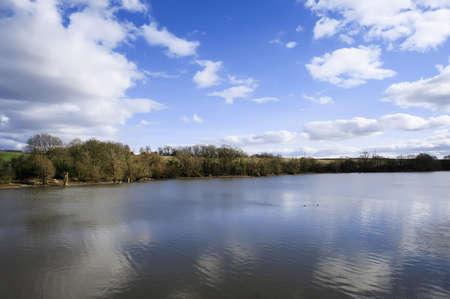 tardebigge: tardebigge resrvoir canale serrature Worcester e Birmingham Canal