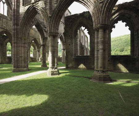 abbeys: wales monmouthshire TINTERN ABBEY