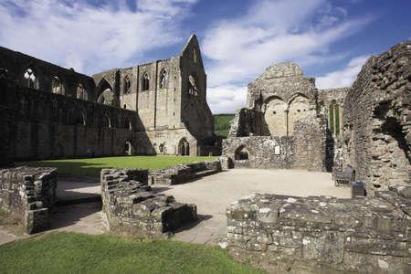 abbeys: wales monmouthshire TINTERN ABBEY