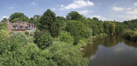 severn: england the midlands worcestershire the valley of the river severn arley
