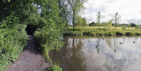 redditch: england midlands worcestershire valley of the river arrow redditch