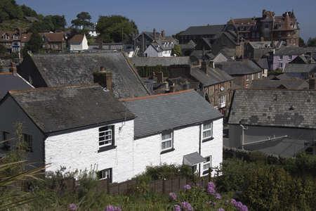 lynton: the village of lynton devon england