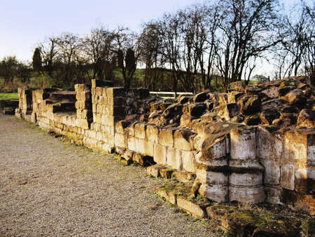 redditch: the ruins of bordesley abbey redditch worcestershire midlands uk