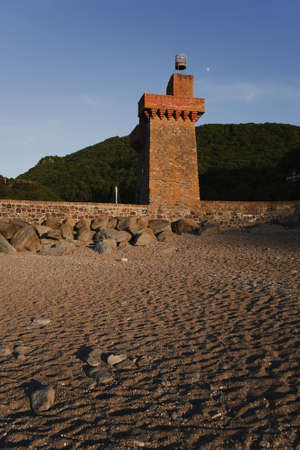 lynmouth: the old lighthouse at lynmouth devon