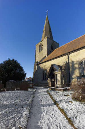 churchyard: churchyard tanworth in arden church warwickshire midlands