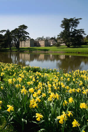 stately home: england warwickshire compton verney stately home Stock Photo