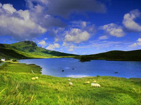 the isle of skye in Scotland, Great Britain UK