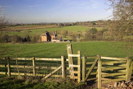 tardebigge: vista dalla lunga distanza monarchi modo sentiero Tardebigge worcestershire Archivio Fotografico