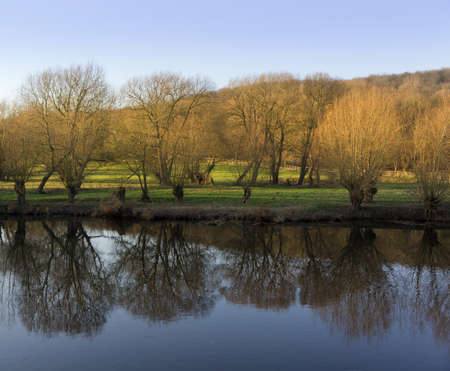 warwickshire: river avon welford-upon-avon warwickshire england uk Stock Photo