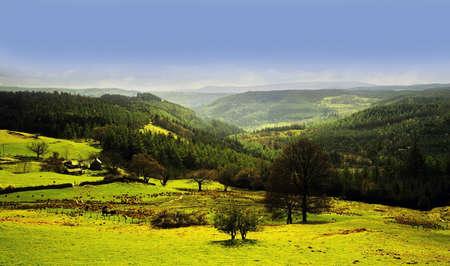 vale: vale of Conway, Snowdonia National Park, Walia, Wielka Brytania, gb