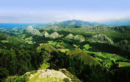 Picos de Europa Mountains Asturias Spain
