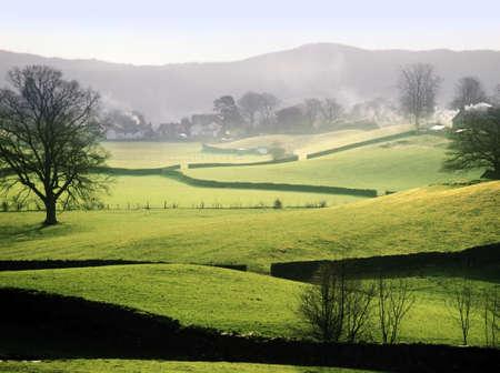 messze: Anglia Cumbria Lake District Nemzeti Park messze Sawrey közelében, ahol Beatrix Potter élt