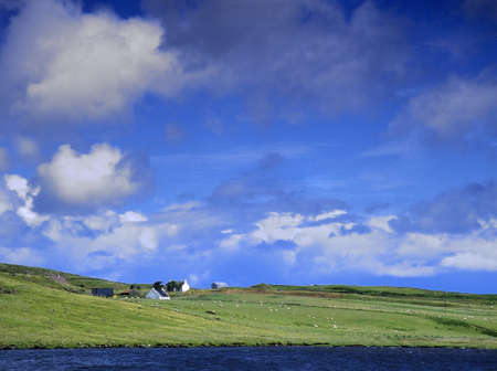 croft: a croft on the isle of skye in Scotland, Great Britain UK