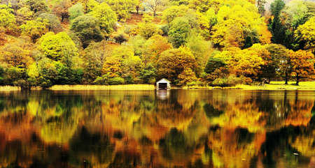 cumbria: coniston water lake district cumbria england uk Stock Photo