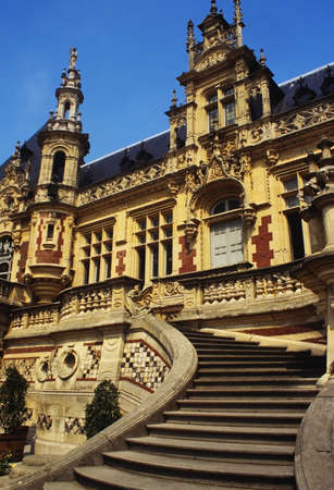 benedictine: palais benedictino fecamp sena mar�timo normand�a francia
