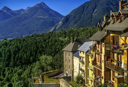 Alpes: briancon in the provence alpes