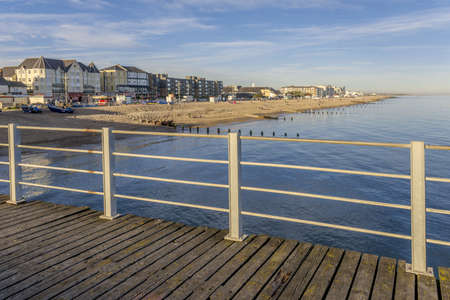 sussex: the seaside resort of bognor regis west sussex, england, uk