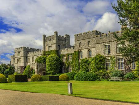 dean: west dean gardens and estate, west sussex, sussex, england uk. Editorial
