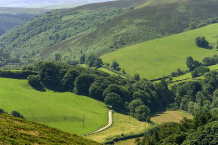 exmoor:  exmoor north devon Stock Photo