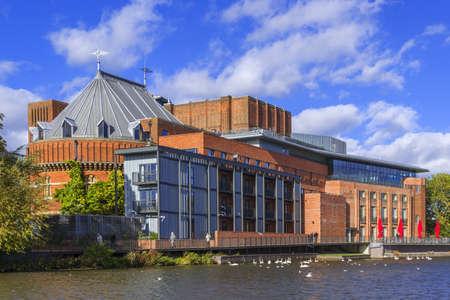 warwickshire: shakespeare memorial theatre stratford-upon-avon  warwickshire the midlands england uk
