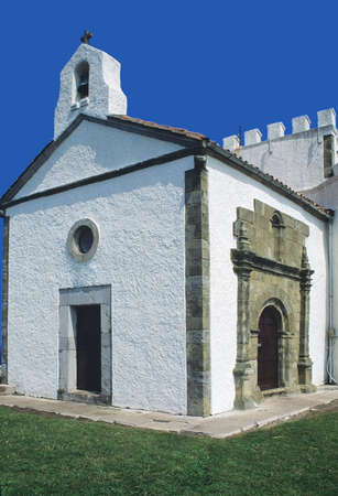 A  village church - spain Stock Photo - 16549420