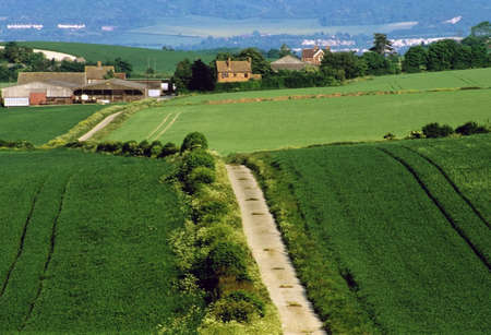 weald: a footpath and public bridleway through the countryside