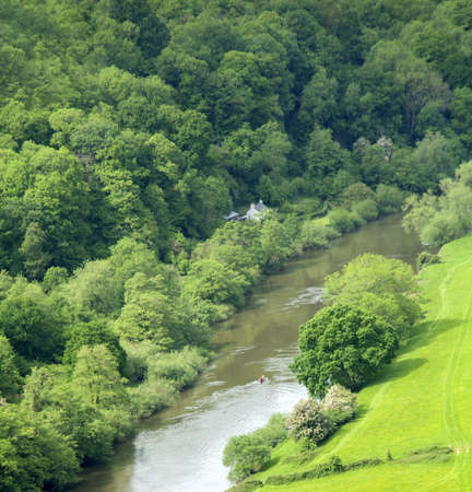 dean: the river wye view from symonds yat