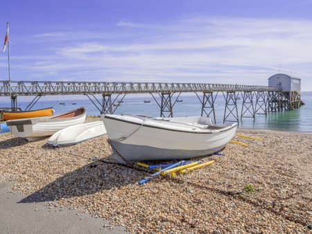 the fishing port of selsey on the sussex coast
