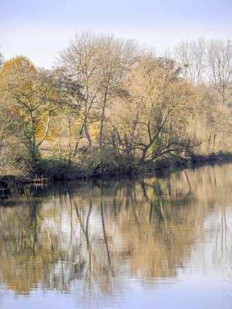 severn: river severn, stourport on severn , worcestershire Stock Photo