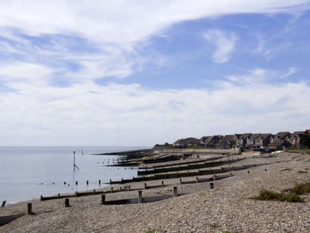 selsey beach west sussex uk