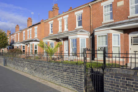 worcester city houses worcestershire the midlands england uk
