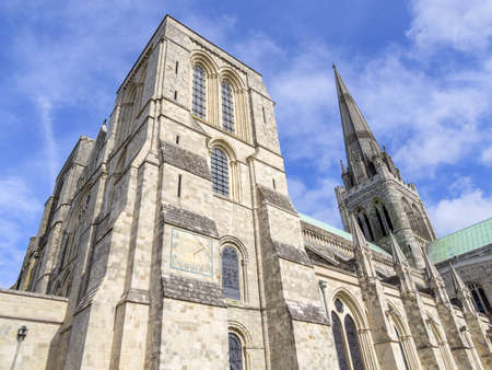 west sussex: A  parish church - church of england - chichester cathedral west sussex Stock Photo