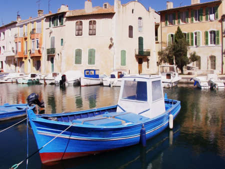 cote d'azur: the resort town of martigues, marseilles france Stock Photo