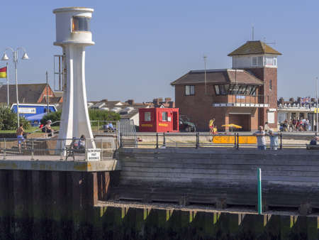 west sussex: holiday resort of littlehampton in west sussex