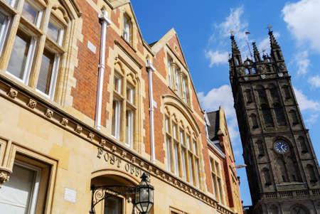 Old buildings in Warwick.