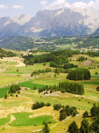 Alpes: france alps haute alpes le devoluy region near gap Stock Photo