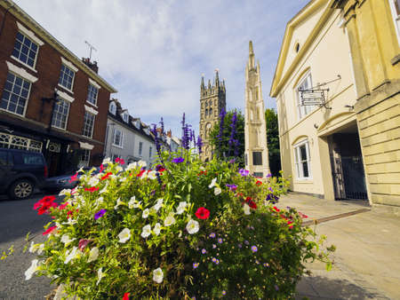 warwick town centre england uk photo