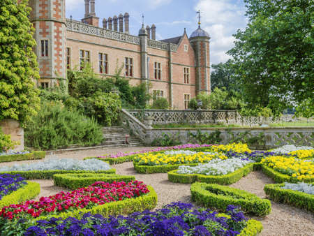 formal garden of a stately home