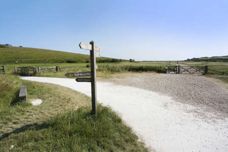 cuckmere haven river and country park sussex photo