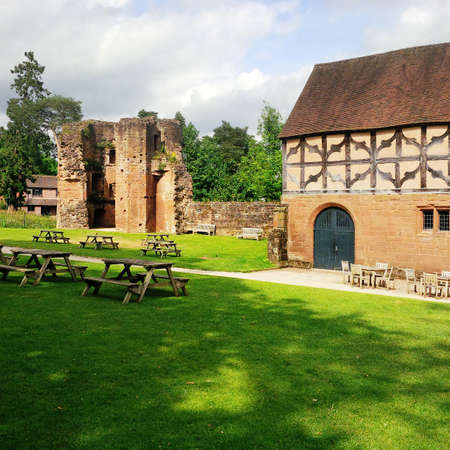 kenilworth castle warwickshire the midlands england uk