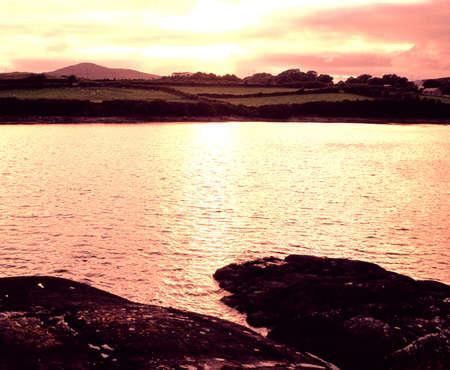 view: The coastline of west cork in county cork Ireland Irish Republic Europe eu
