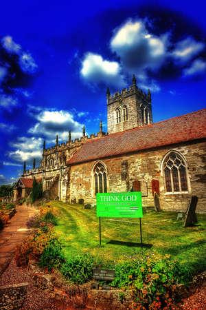 parish: Parish church Stock Photo