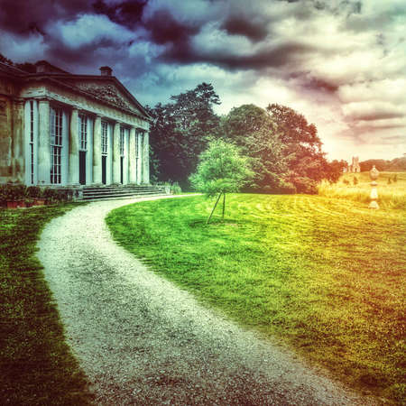 worcestershire: Stately home Stock Photo